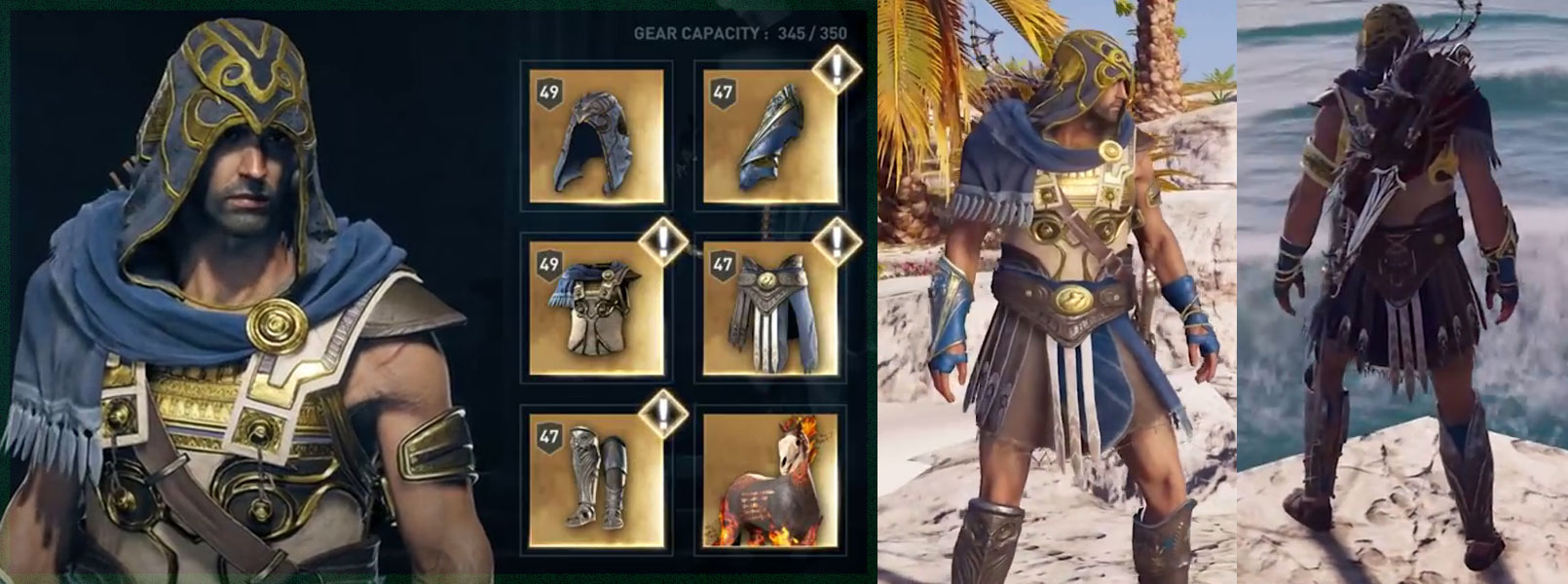Unlock All Legendary Armor Assassin's Creed Odyssey