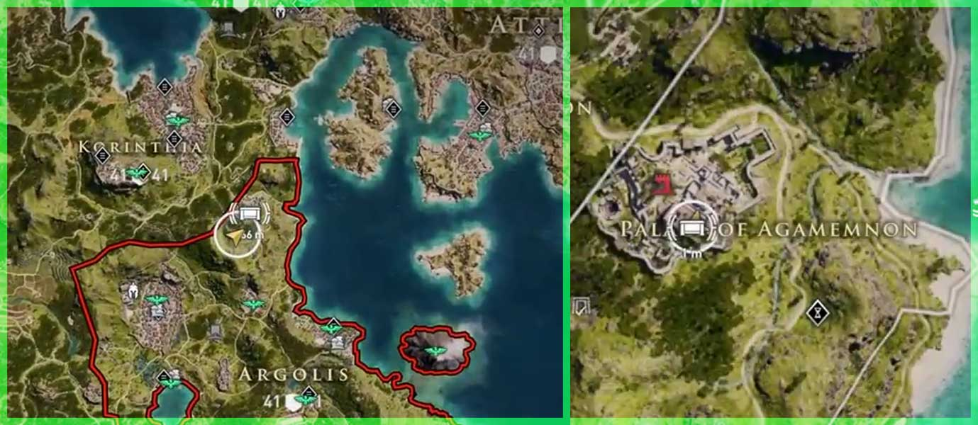 agamemnons-gauntlets-location