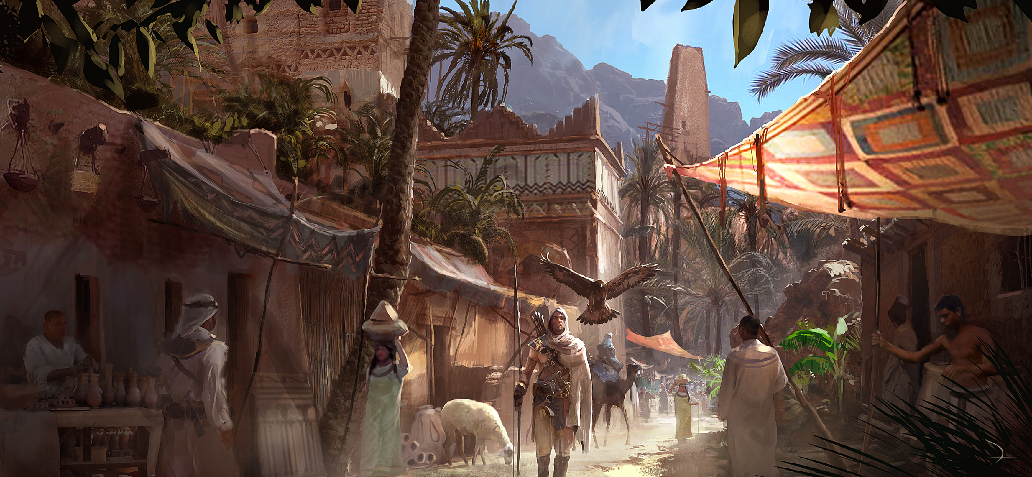 Assassin S Creed Origins 4k Screenshots And Concept Art Leaked
