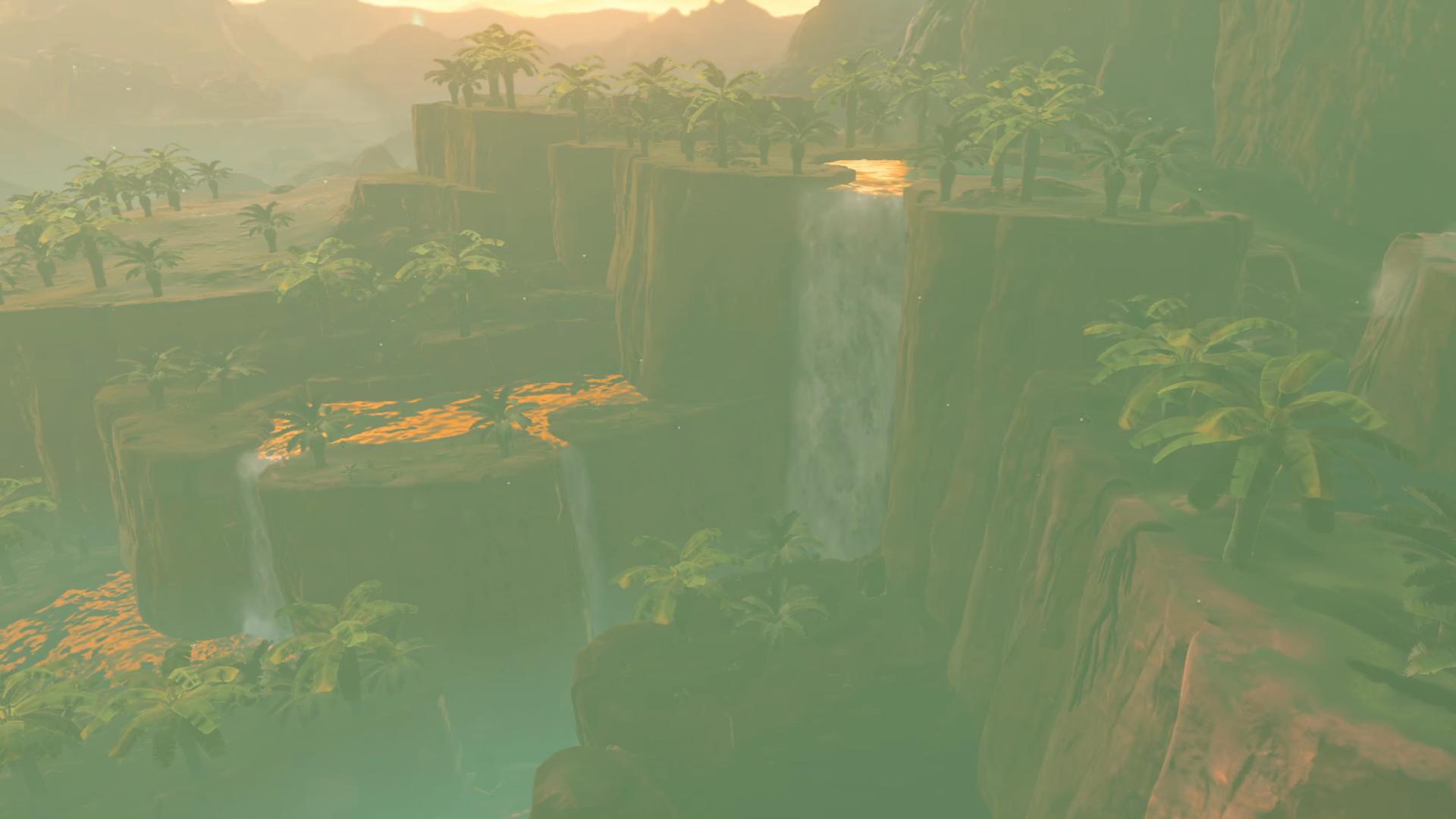 Zelda: Breath of the Wild Comparison Screenshot 3