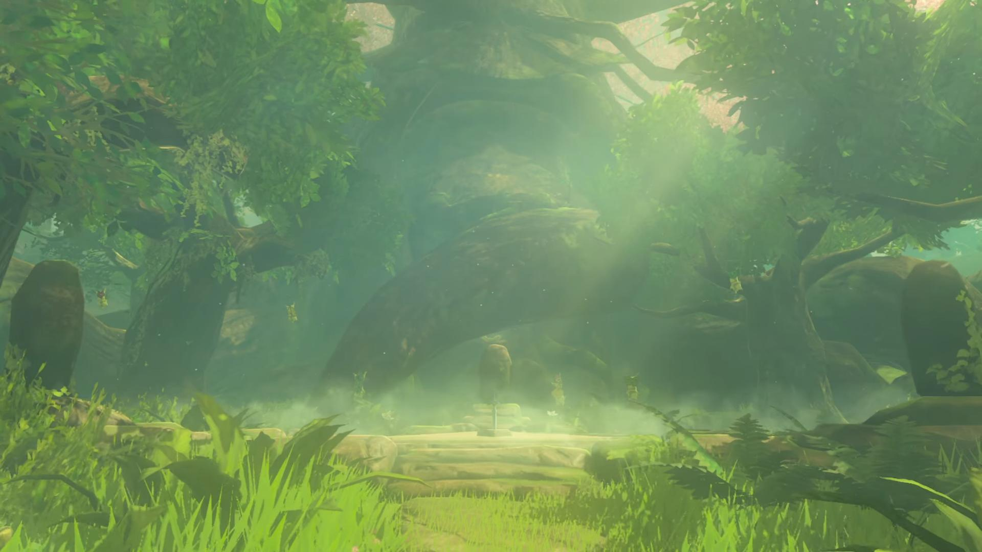 Zelda: Breath of the Wild Looks Much Better Without Fog