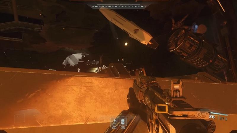 Operation blood storm infinite warfare ending walkthrough - Infinite warfare ship assault ...