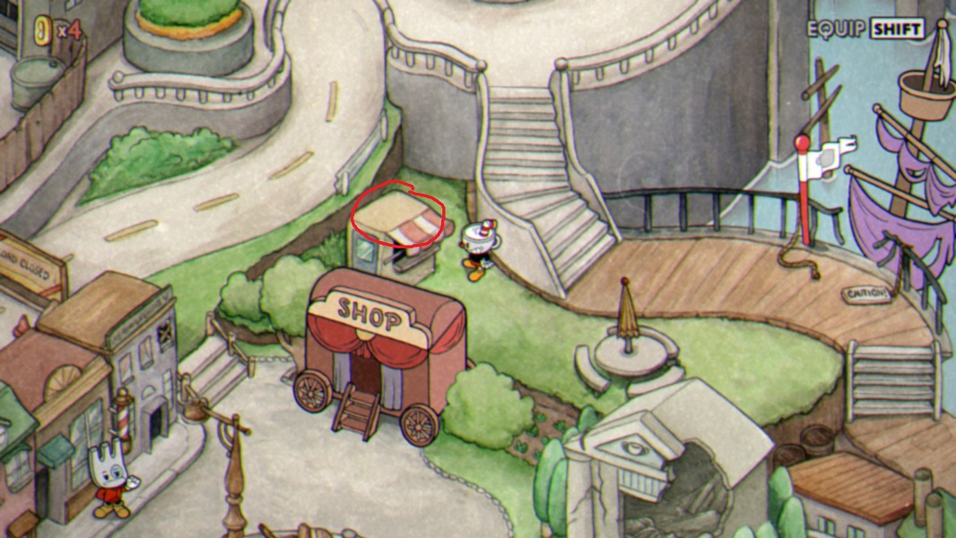 cuphead coin locations