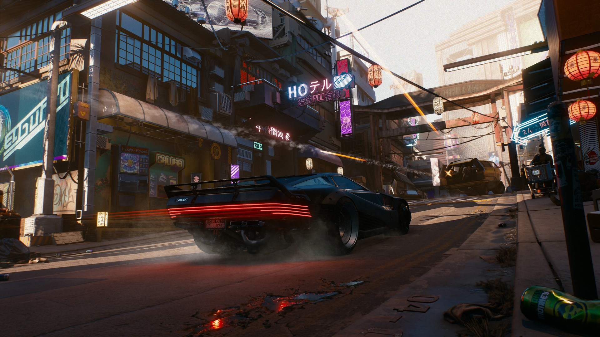 Cyberpunk 2077 - No Drivable Flying Cars