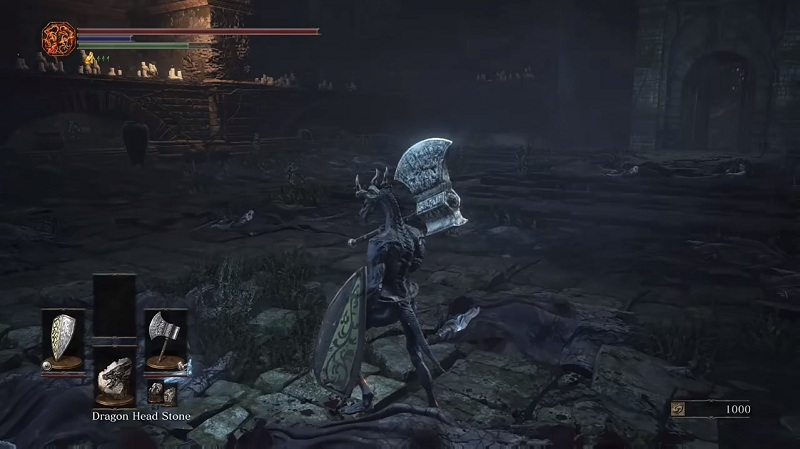 how to get to the dragon in dark souls 3