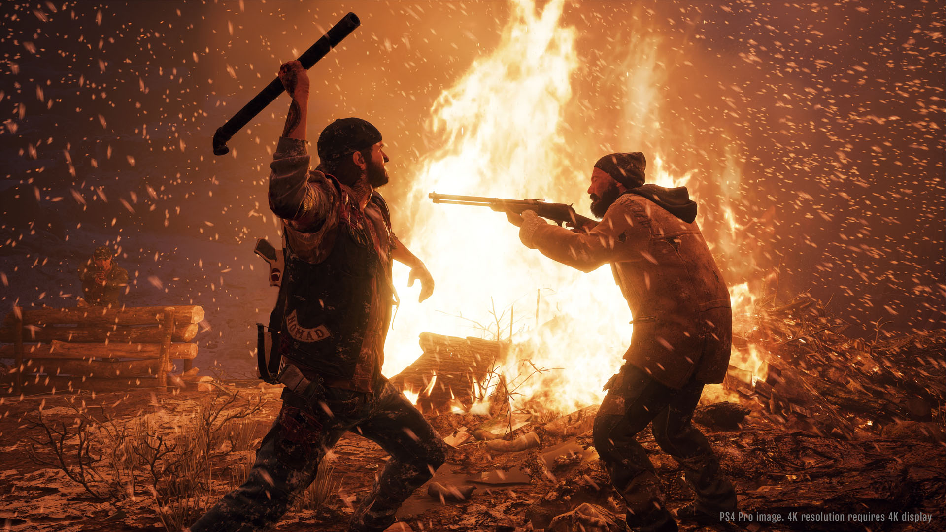 Days Gone E3 2017 Gameplay Demo Screenshot