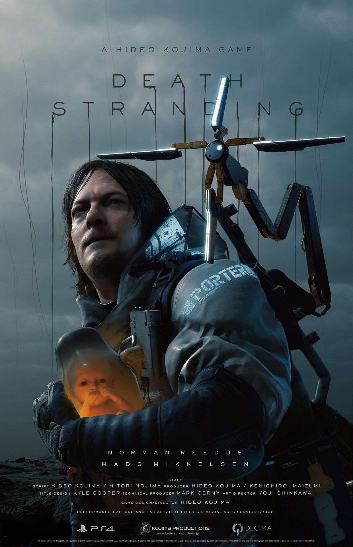 Death Stranding Key Visuals - The Game Awards 2017