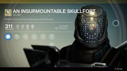 An Insurmountable Skullfort