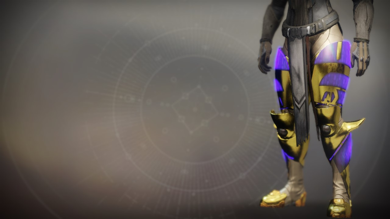 It Is A Legendary Leg Armor That Can Be Equipped By Titans And Possible To Transfer Between Players Through Vault If You Wish Have Some More