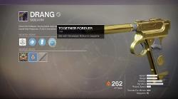 Destiny 2 Drang Side Arm