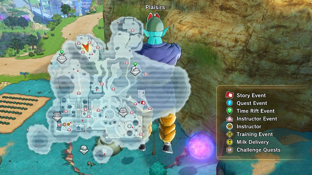 Dragon ball xenoverse 2 guide to unlock all expert missions dragoball expert missions 3 map gumiabroncs Images