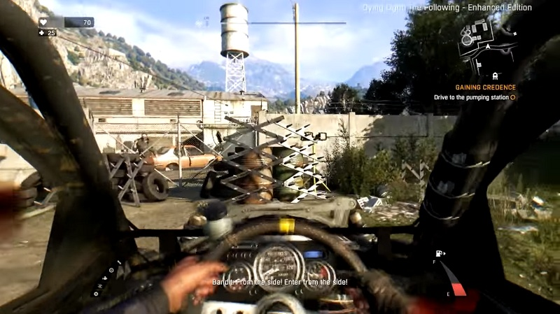 dying light the following how to start