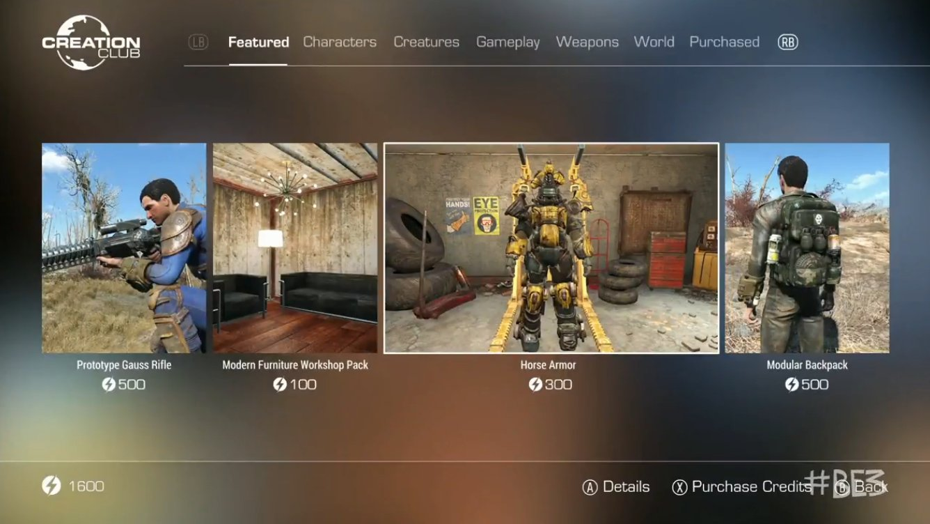 Bethesda's Creation Club Screenshot 2