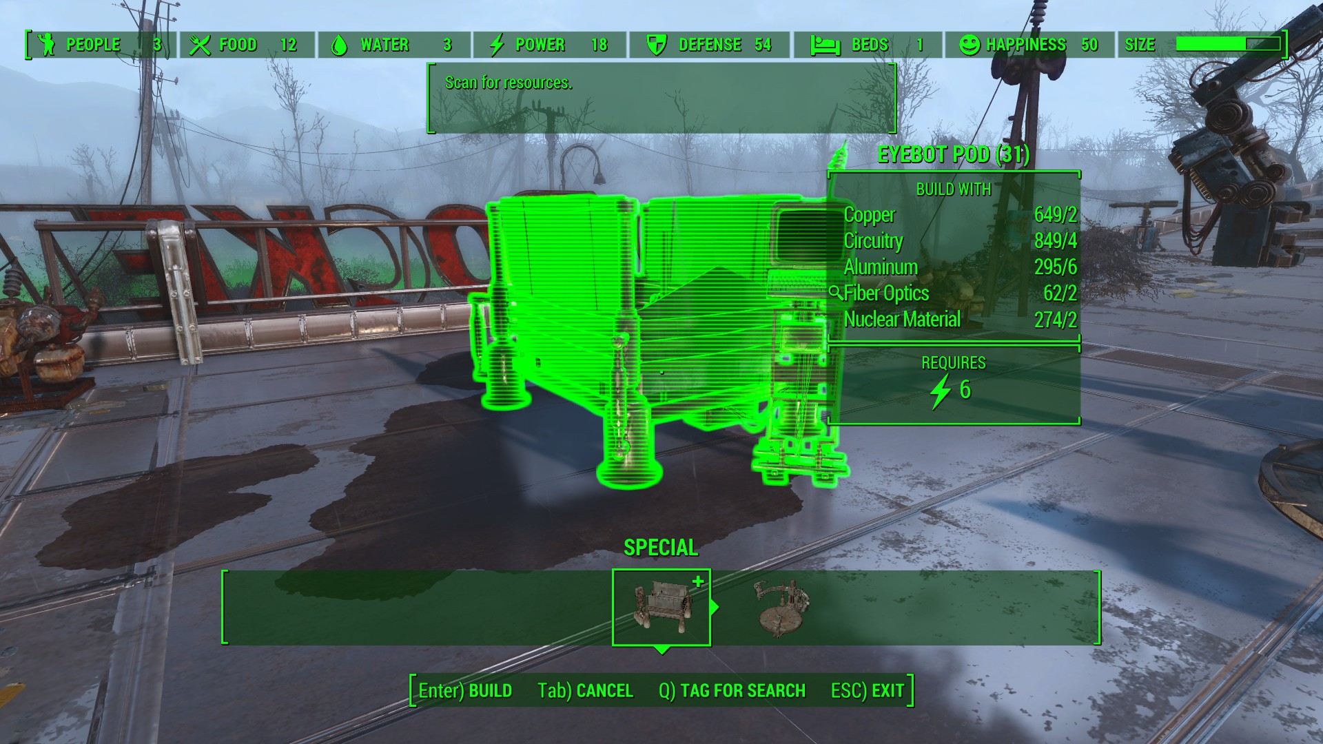 Fallout Automatron: EyeBot Automatron Location, Crafting and ... on