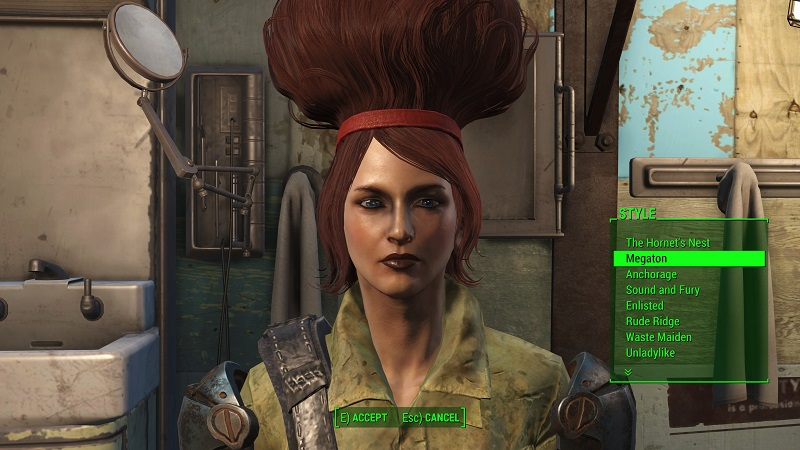 Fallout 4 Haircut Magazines | category vault 81 characters