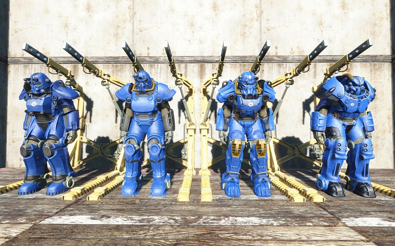 Fallout  All Paint Jobs
