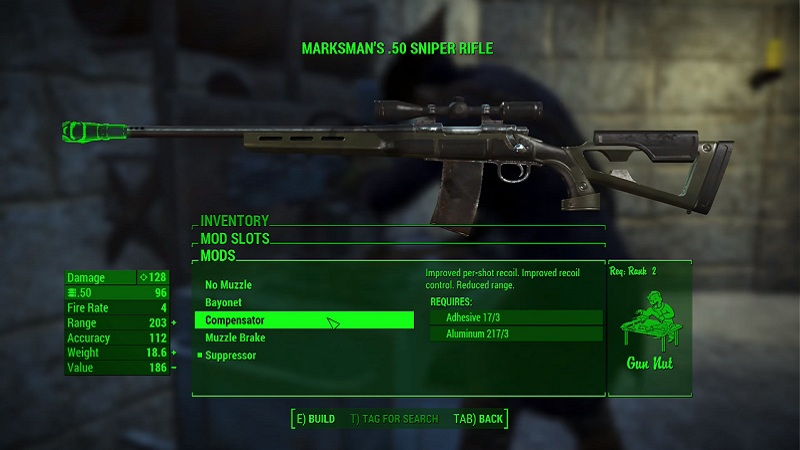 Fallout  Sniper Special Build