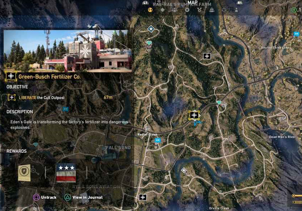 Far Cry 5 Outpost Guide All 20 Outpost Locations Gamepur