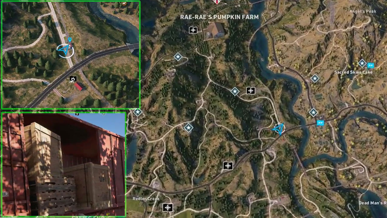Man Cave Holland Valley : Far cry all perk magazine locations in holland valley