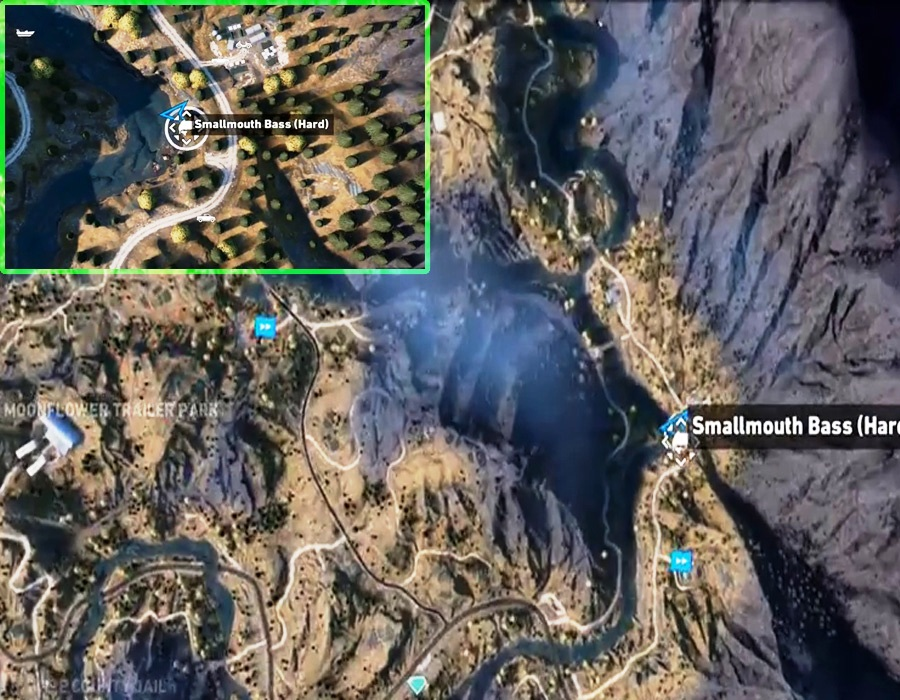 Far Cry 5 - All Hard Difficulty Fishing Spot Locations
