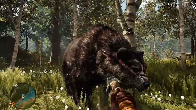 Far cry primal where to find all 17 animals and how to tame them far cry primal great scar bearg gumiabroncs Gallery