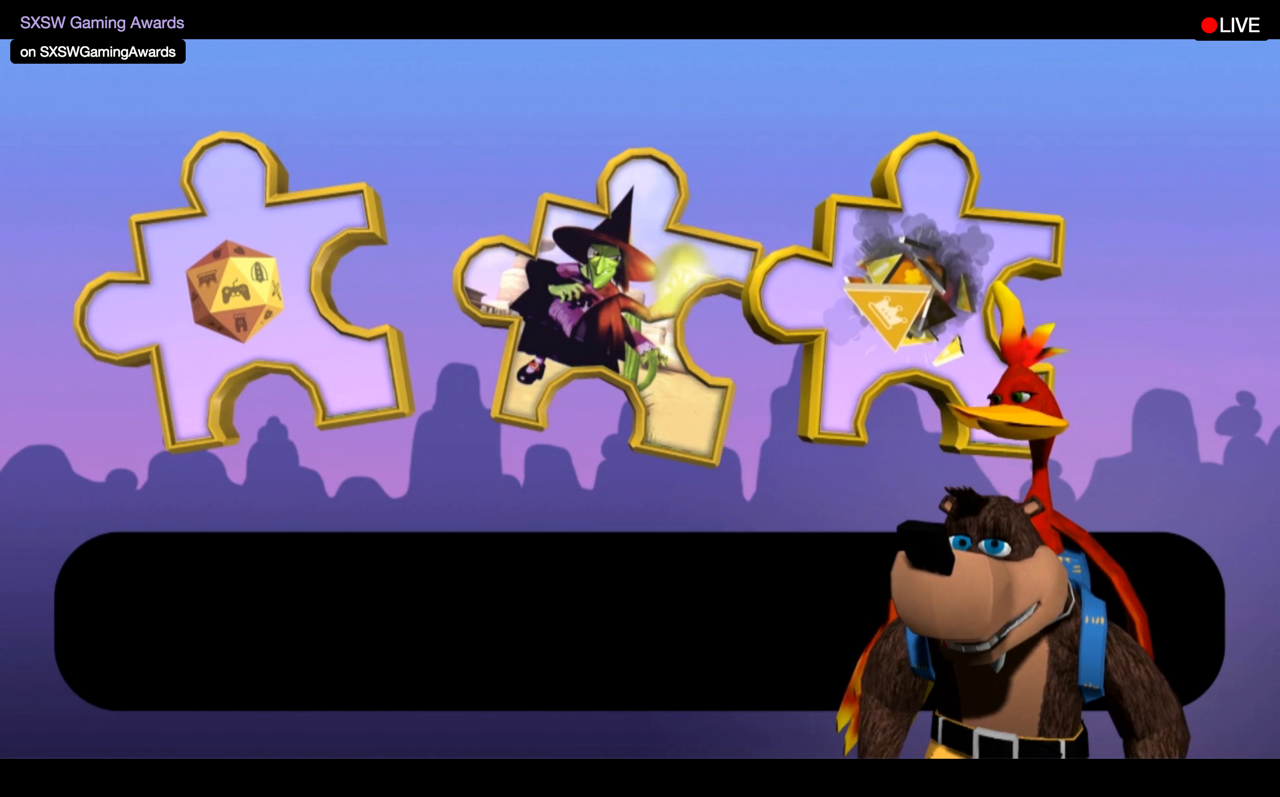 new banja kazooie kinect tech demo showcased by rare at