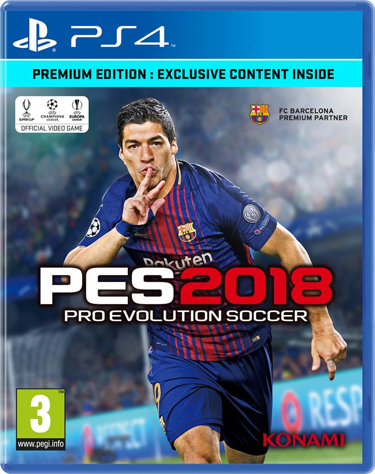 PES 2018 Cover Star For Europe