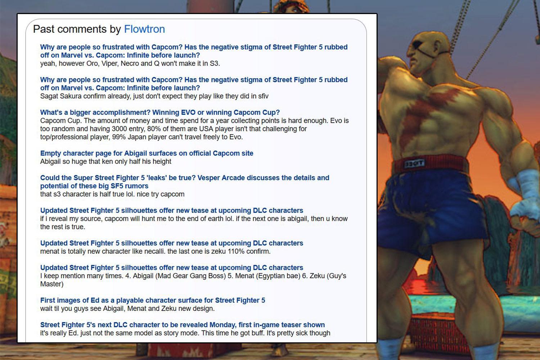 Street Fighter V - Season 3 DLC Character Leaked