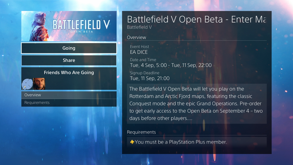 Battlefield V Open Beta End Date And Time