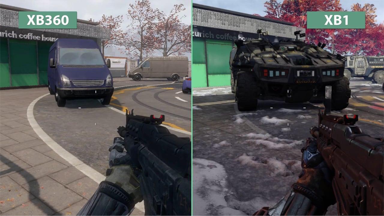 Call of Duty: Black Ops III Xbox One vs Xbox 360 ... Xbox One S Vs Ps4 Slim Graphics