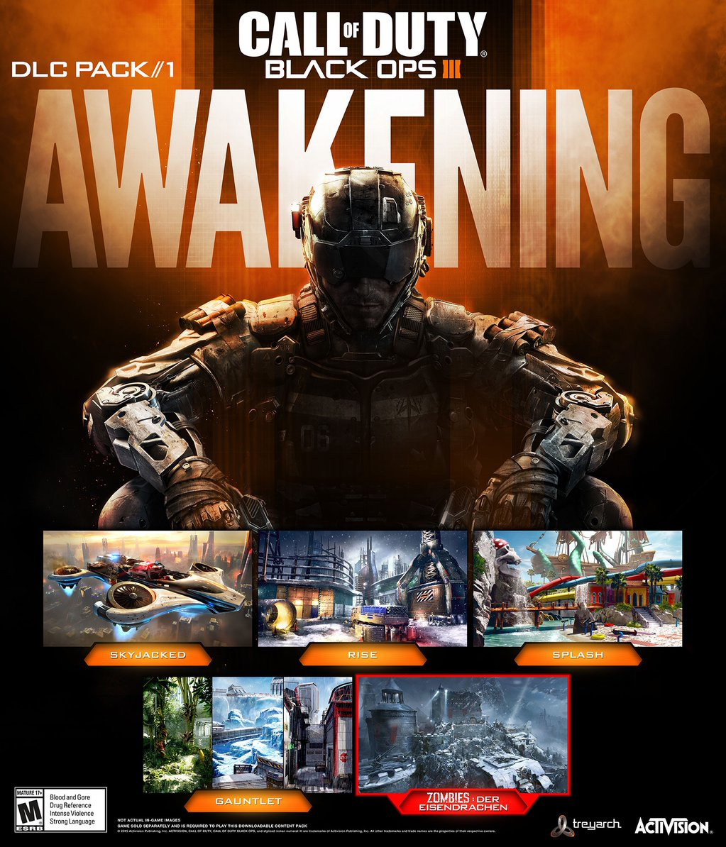 Cod Black Ops Iii Awakening Dlc Promotional Poster Out