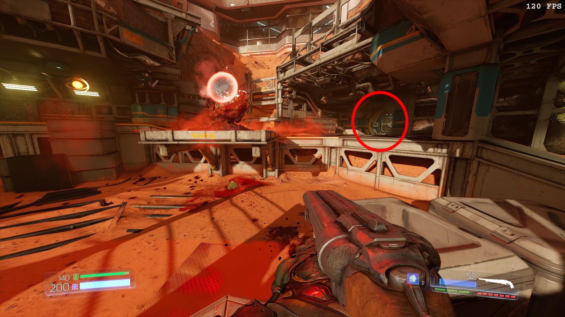 Doom 2016 Hidden Classic Level Location Guide Gamepur
