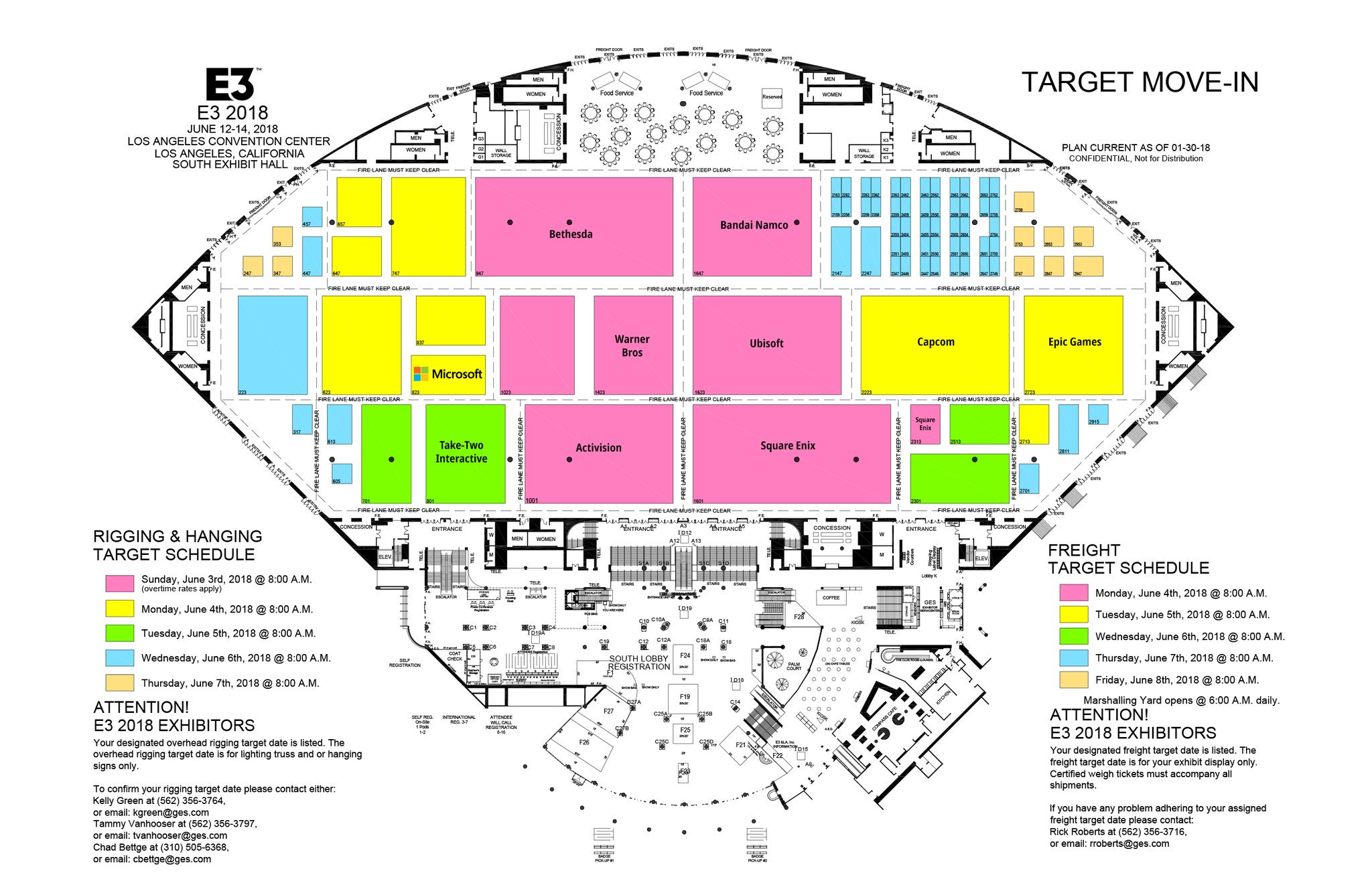 Aaron Greenberg Leaked E3 2018 Floor Map Is Fake Xbox