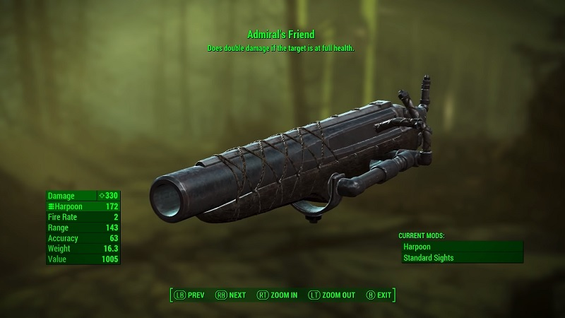 13 Best Unique Lethal Weapons In Fallout 4: Far Harbor