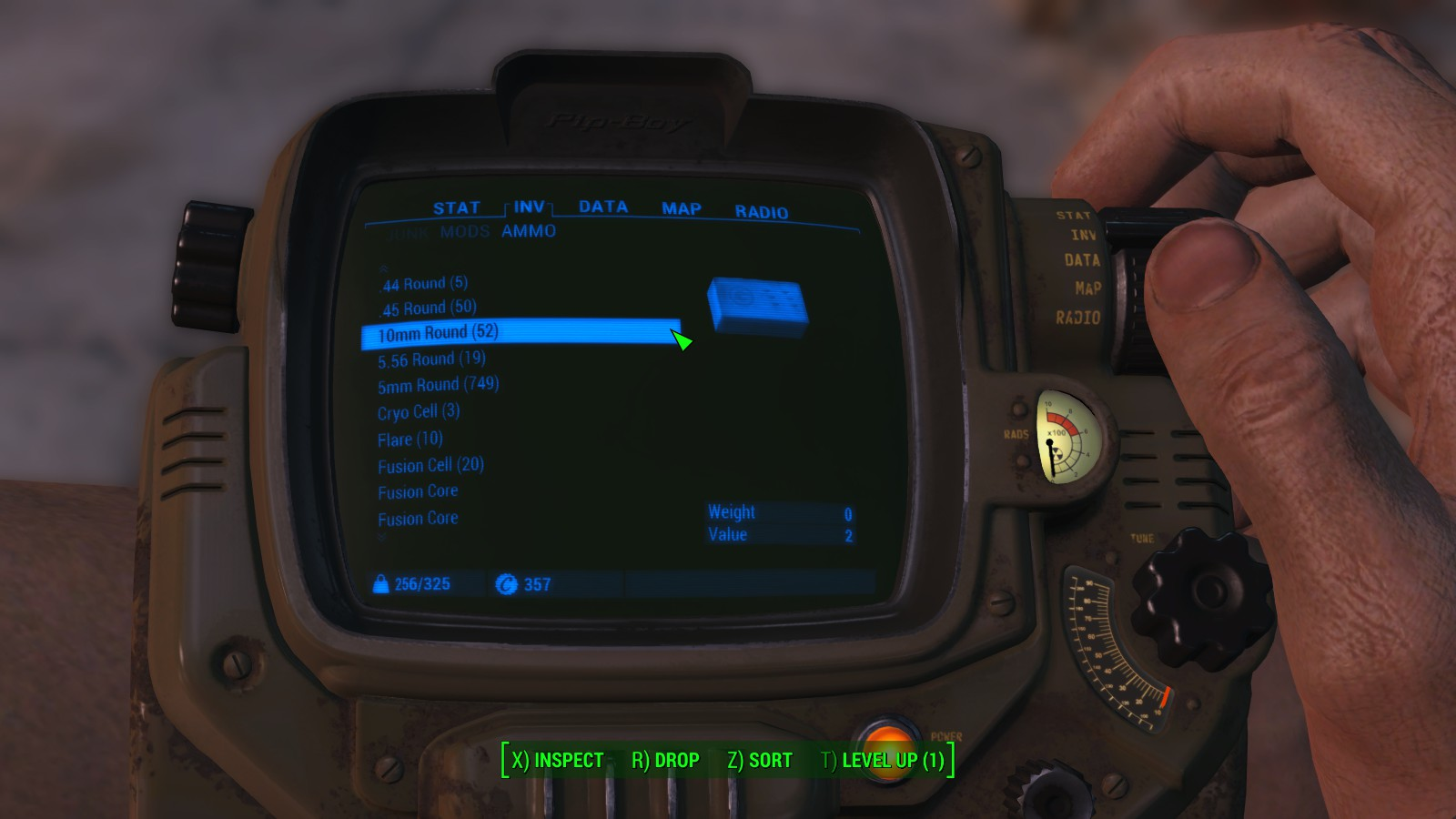 Fallout 4 guide on how to get item id codes in game fallout 4 in game item id screenshot 1 solutioingenieria Image collections
