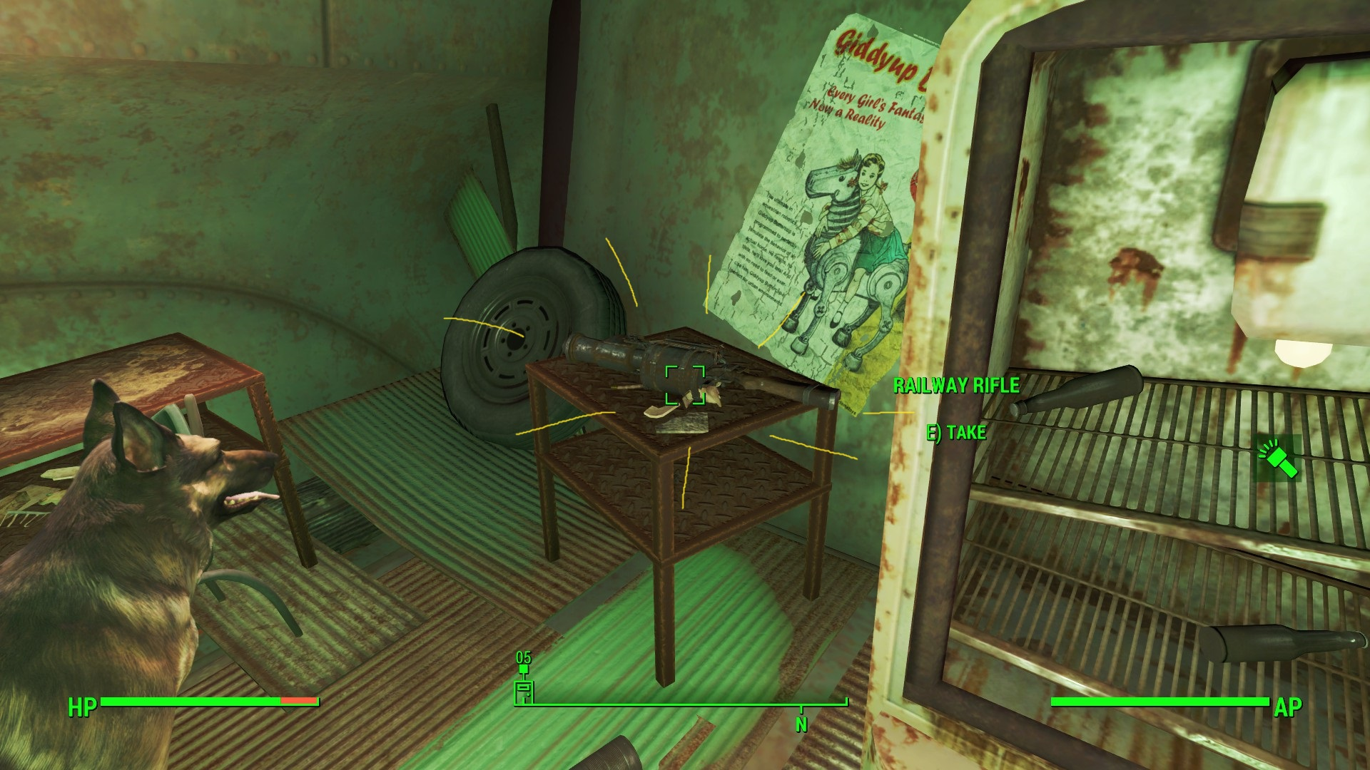 fallout 4 guide how and where to find the railway rifle