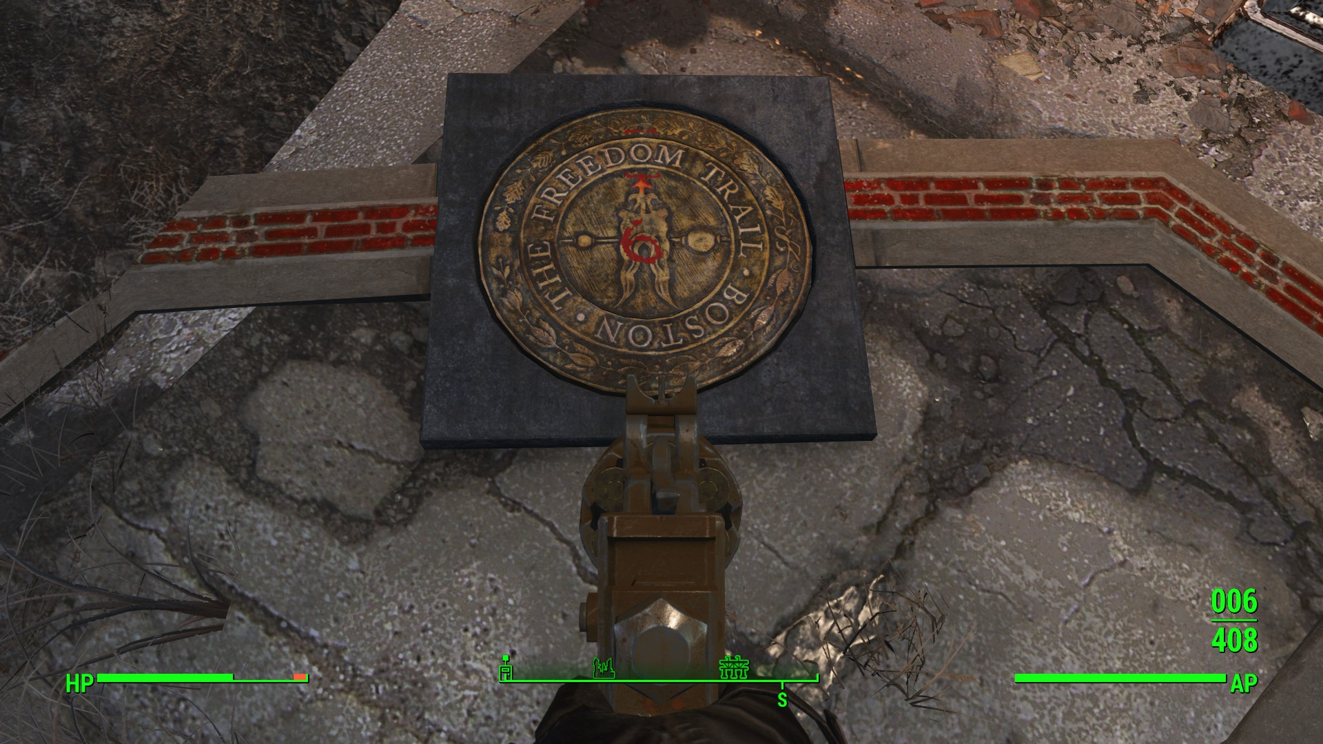 fallout 4 freedom trail puzzle code