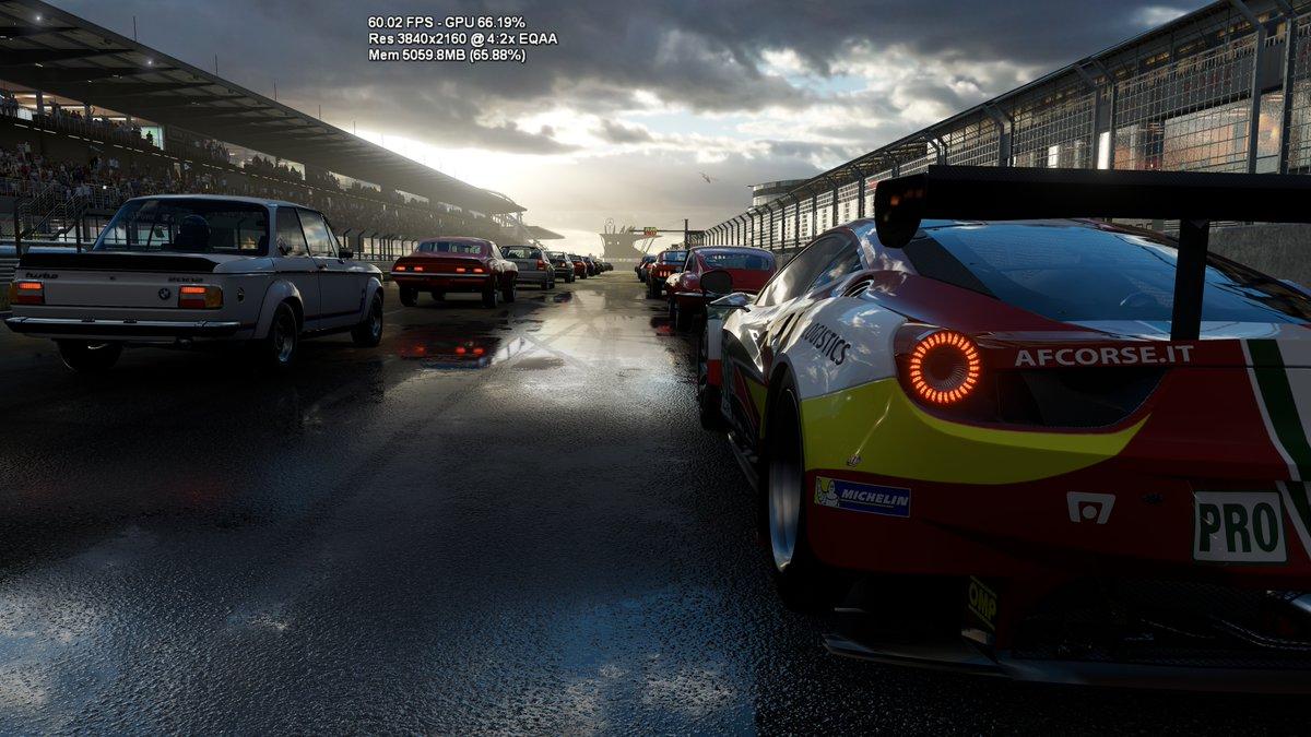 Forza 6 Running On Project Scorpio