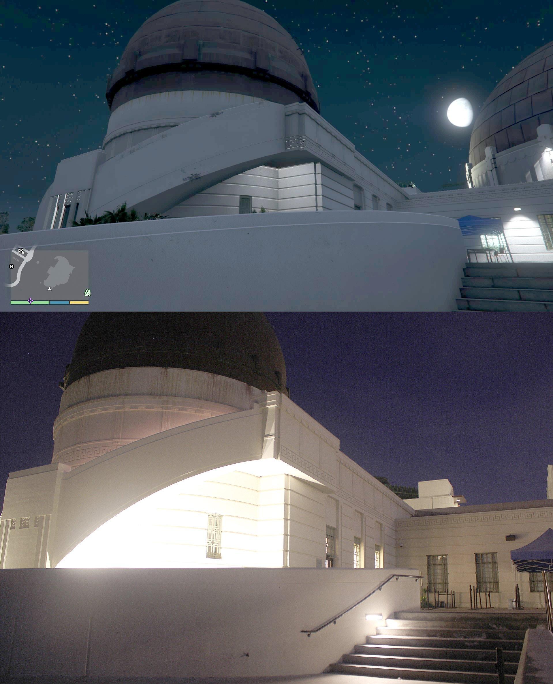 gta v los santos vs real life los angeles comparison screenshots  rockstar games nailed it with