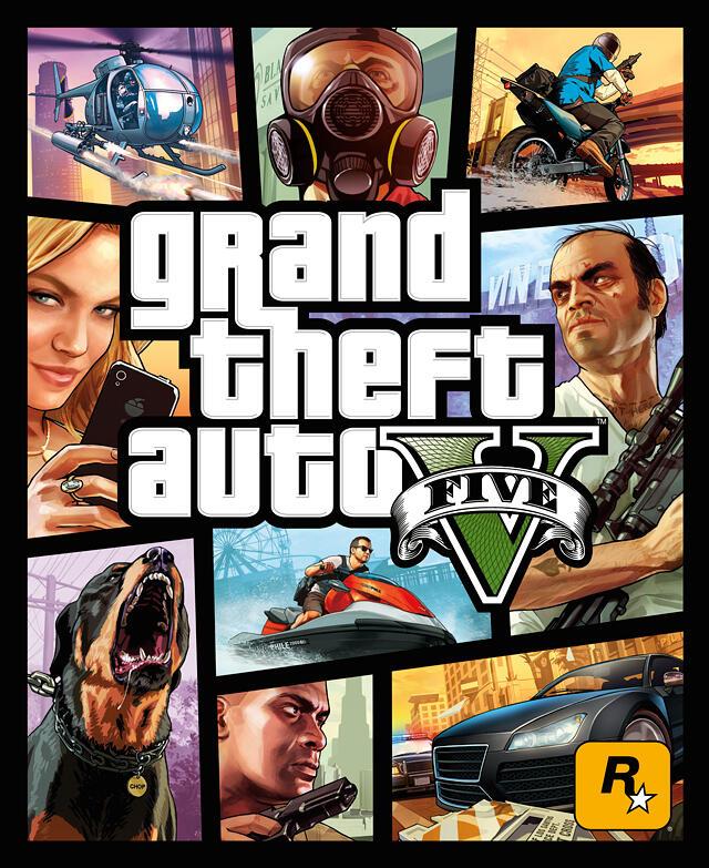 GTA V PS4 Review Box Art