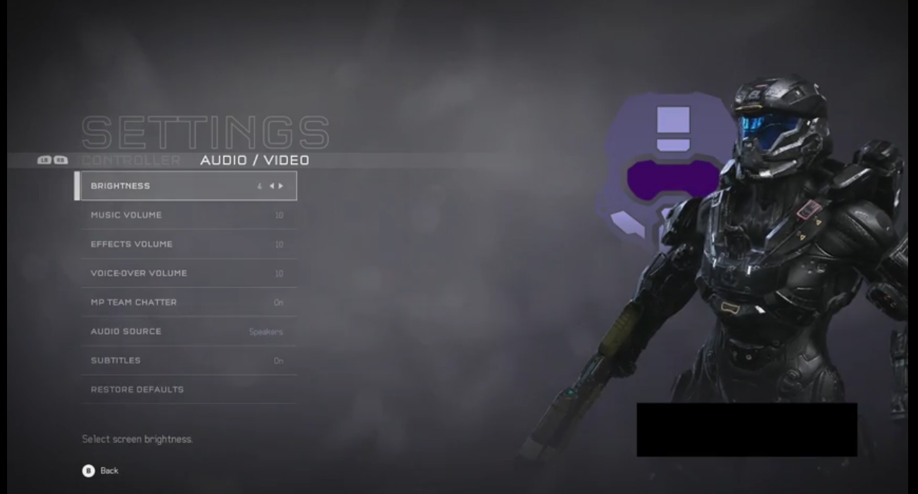 Halo 5: Warzone Menu Screens Leaked, Shows Controller Layout