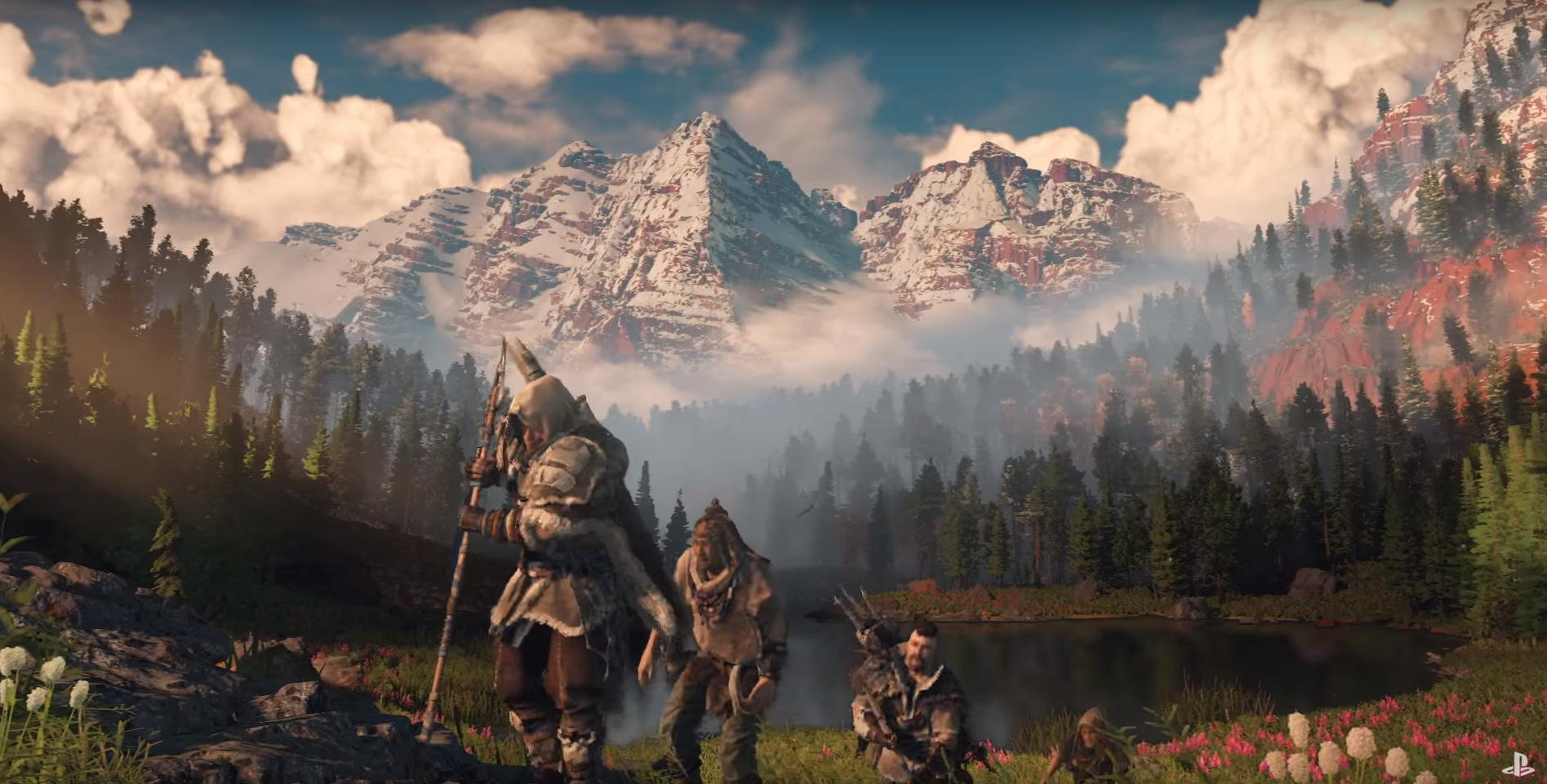 Horizon Zero Dawn Is Set In Colorado Comparison Images Shows
