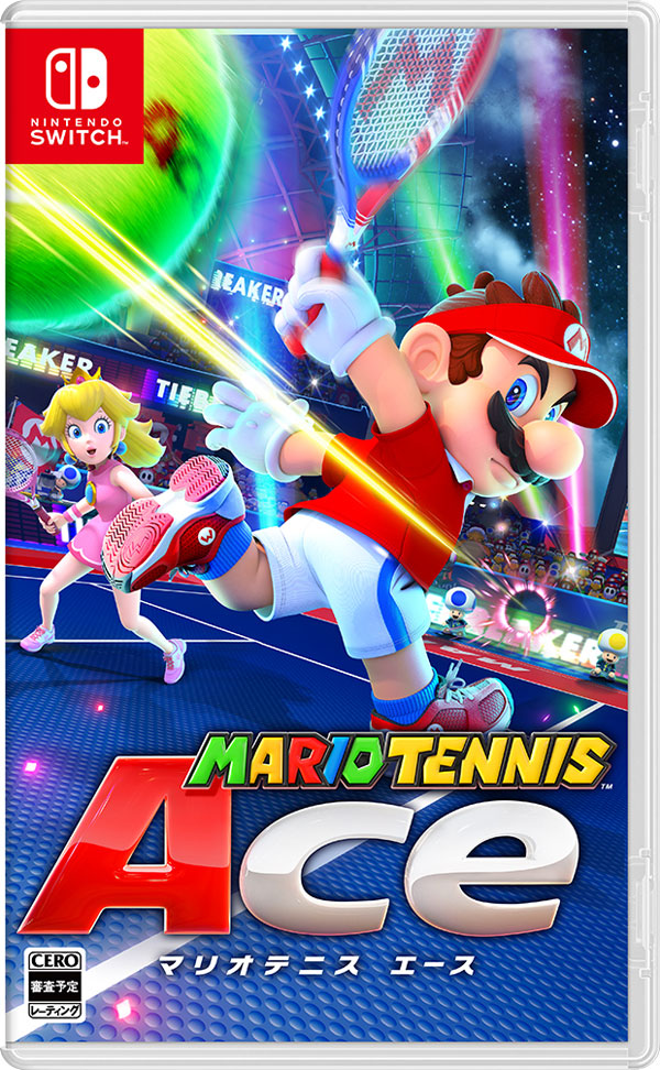 Mario Tennis Ace Box Art