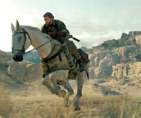 New MGS V: The Phantom Pain Info & Screens Leaked From OXM