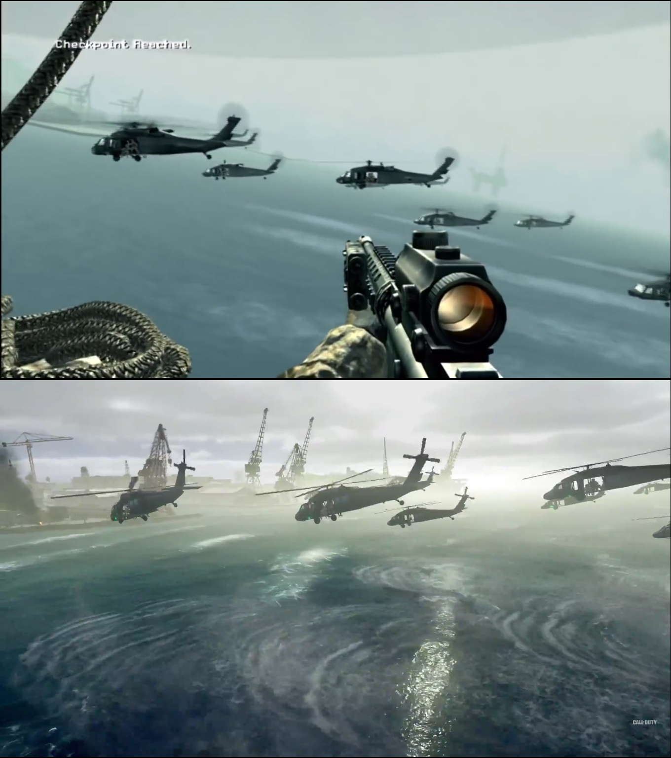 New Best Impressive Pics: Call Of Duty: Modern Warfare Remastered Vs Original