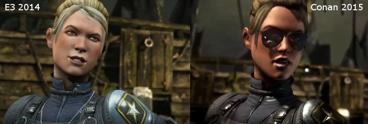 Xbox One Vs Ps4 Graphics Side By Side Mortal Kombat X PS4 E3...