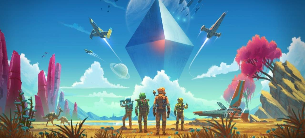 No Man's Sky Next Cover Art