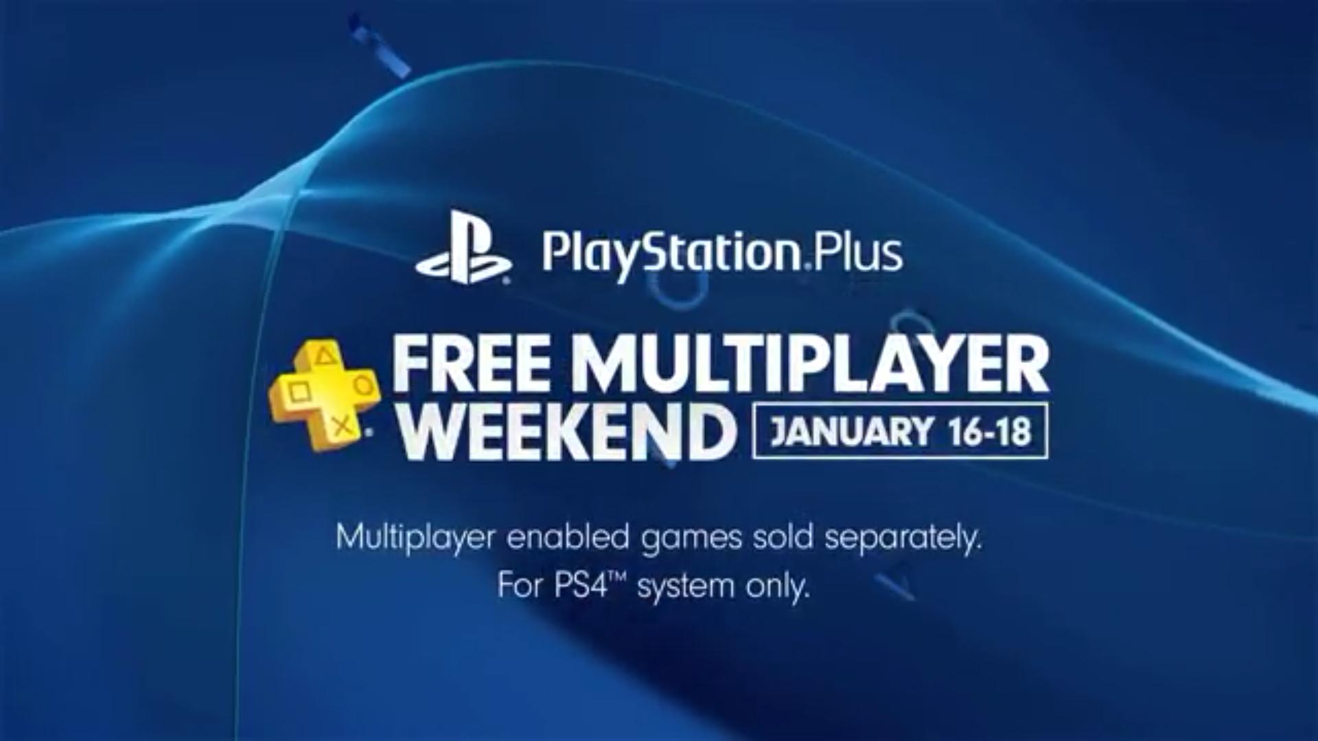 PSN+ Free Weekend