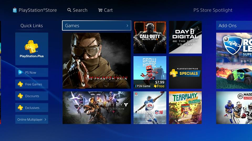 PS Store Receives Full Makeover On PS4, Receives Positive ...