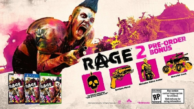 Rage 2 Amazon Pre-order Bonus Revealed